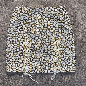 REVOLVE floral skirt